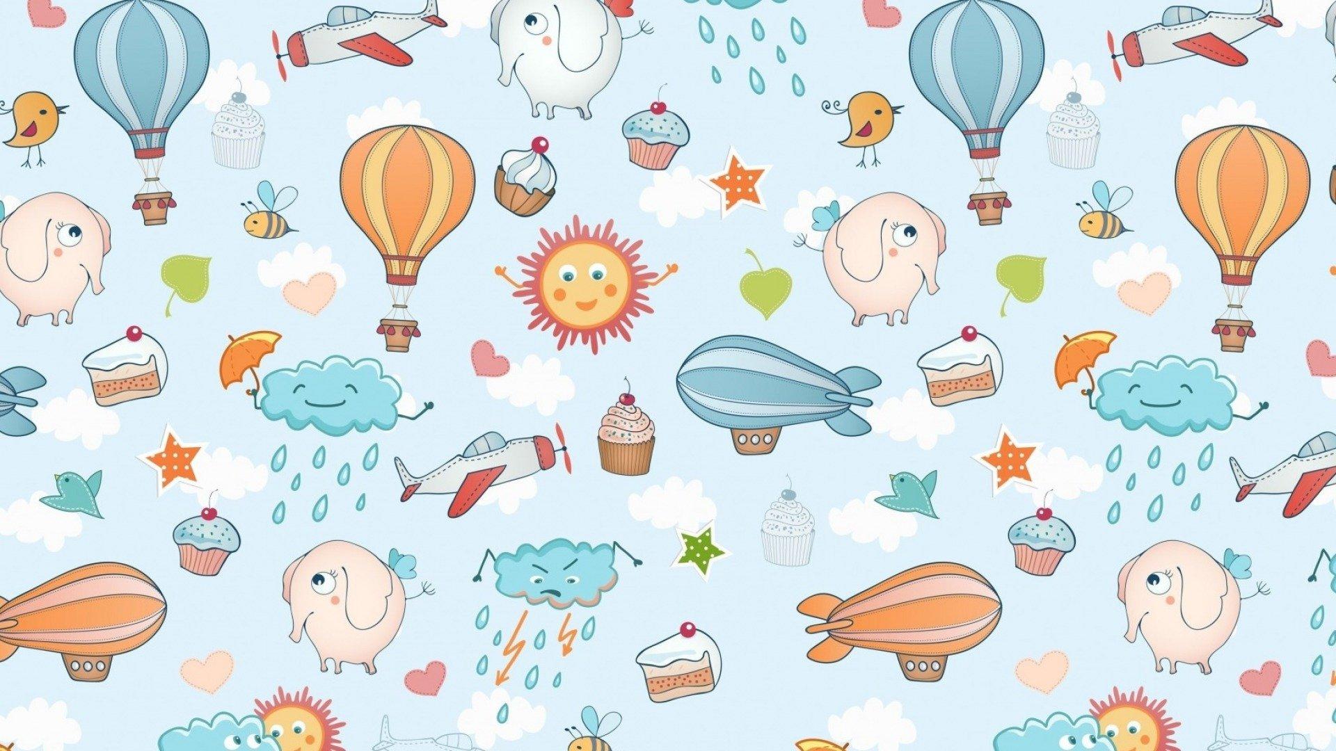 фоновые текстурные картинки для малышей