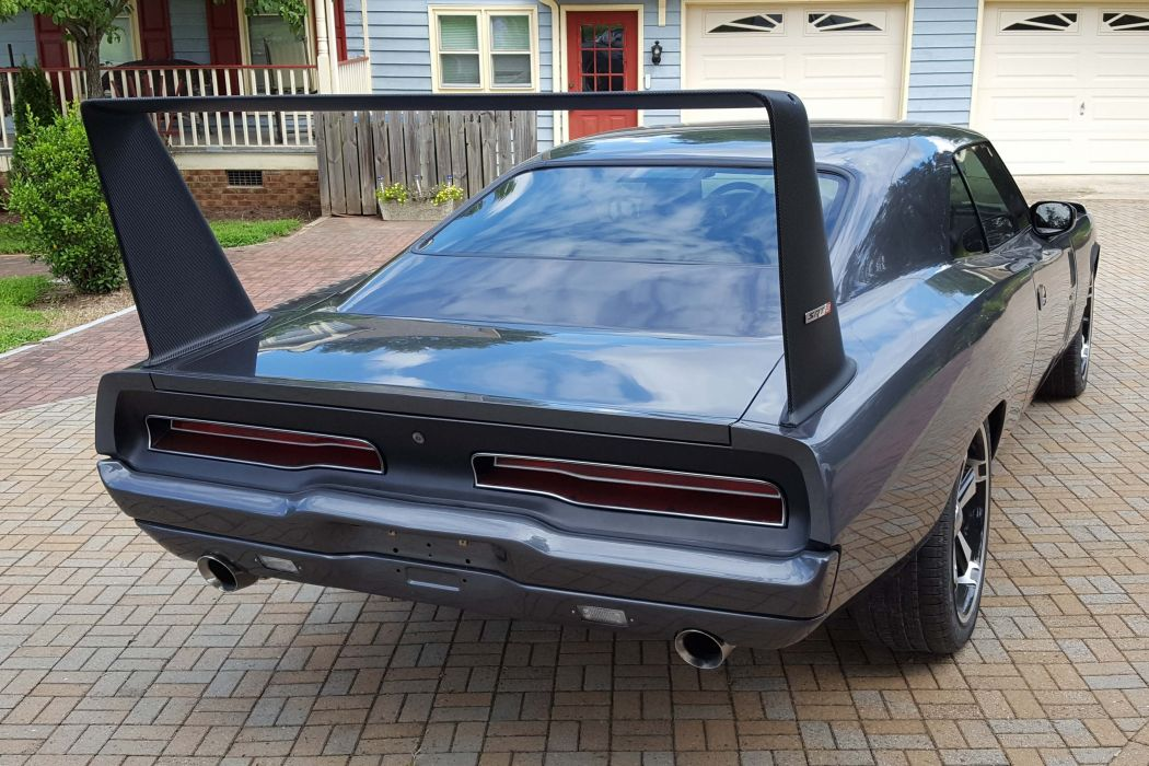 1969 Dodge Daytona Tribute cars modified wallpaper