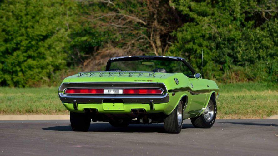 T CONVERTIBLE cars muscles green wallpaper