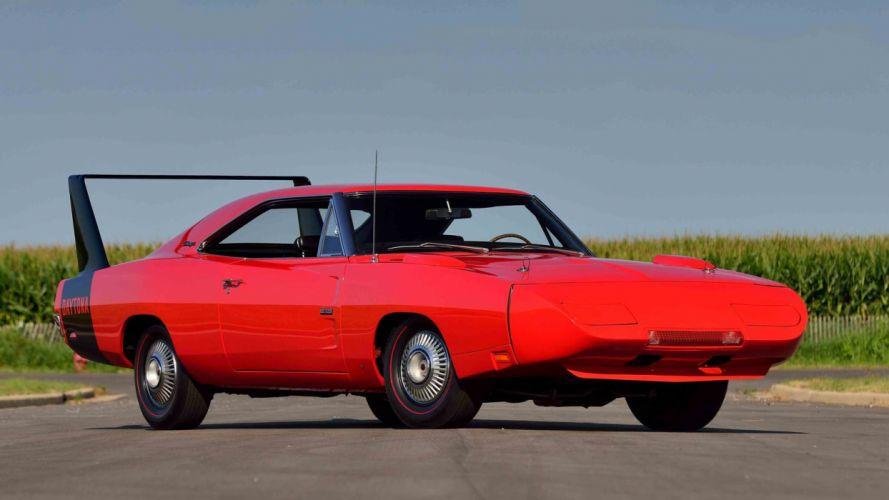 1969 DODGE HEMI DAYTONA cars muscle red wallpaper