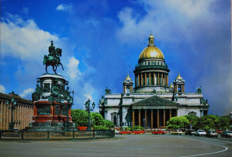 St-Petersburg-St-Isaacs-Cathedral wallpaper