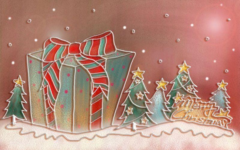 Textures cute Merry Christmas wallpaper