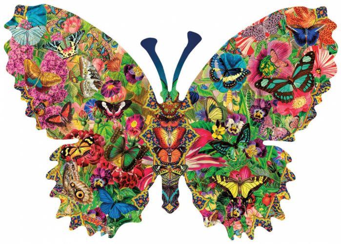 Textures Butterfly wallpaper