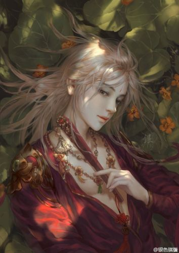 fantasy male long hair wallpaper