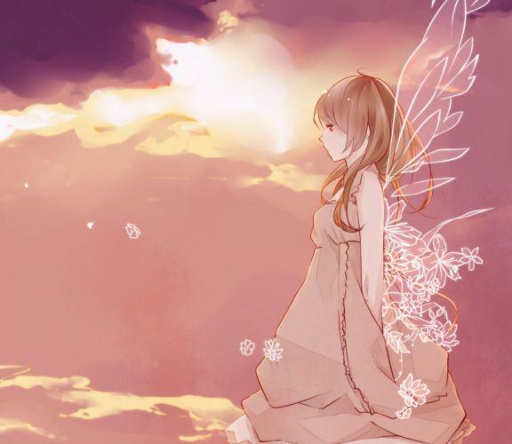 angel Anime Girls anime girl beautiful cute wallpaper