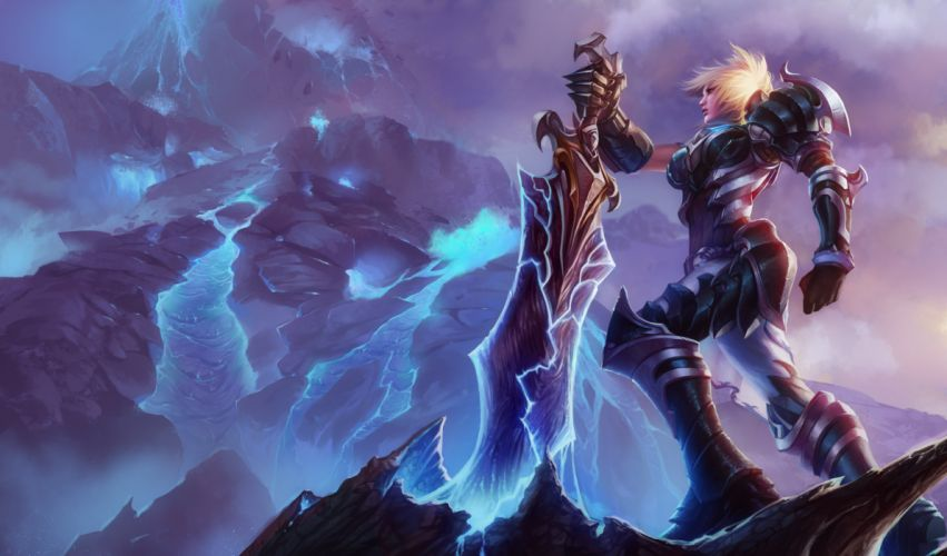 armor league of legends riven (league of legends) sword tagme wallpaper