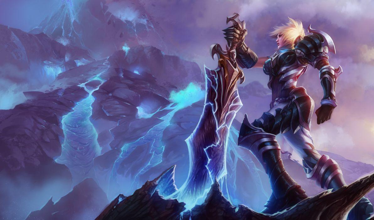 armor league of legends riven (league of legends) sword tagme wallpaper