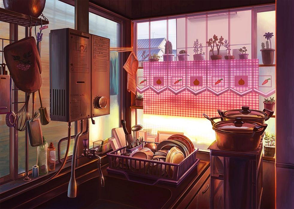Anime Kitchen wallpaper