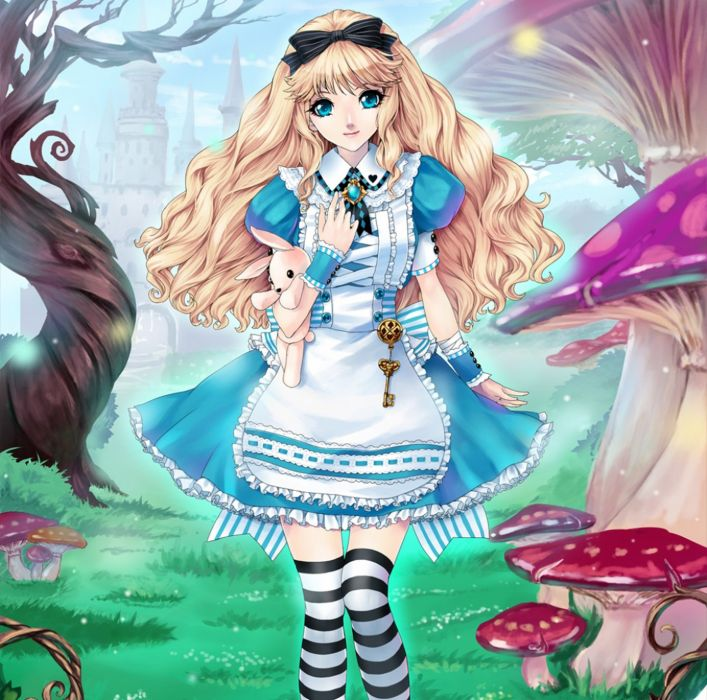anime alice anime girl beautiful cute original  wallpaper
