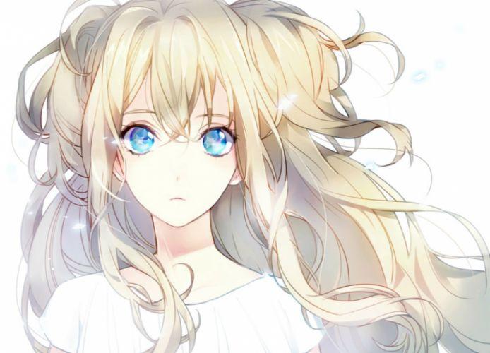 anime girl beautiful cute original Anime wallpaper