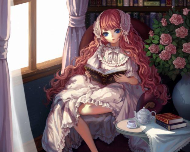 doll Anime Lolita anime girl beautiful cute original wallpaper