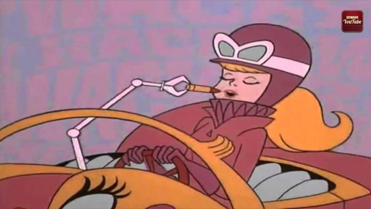 penelope glamiur dibujos animadois autos locos wallpaper