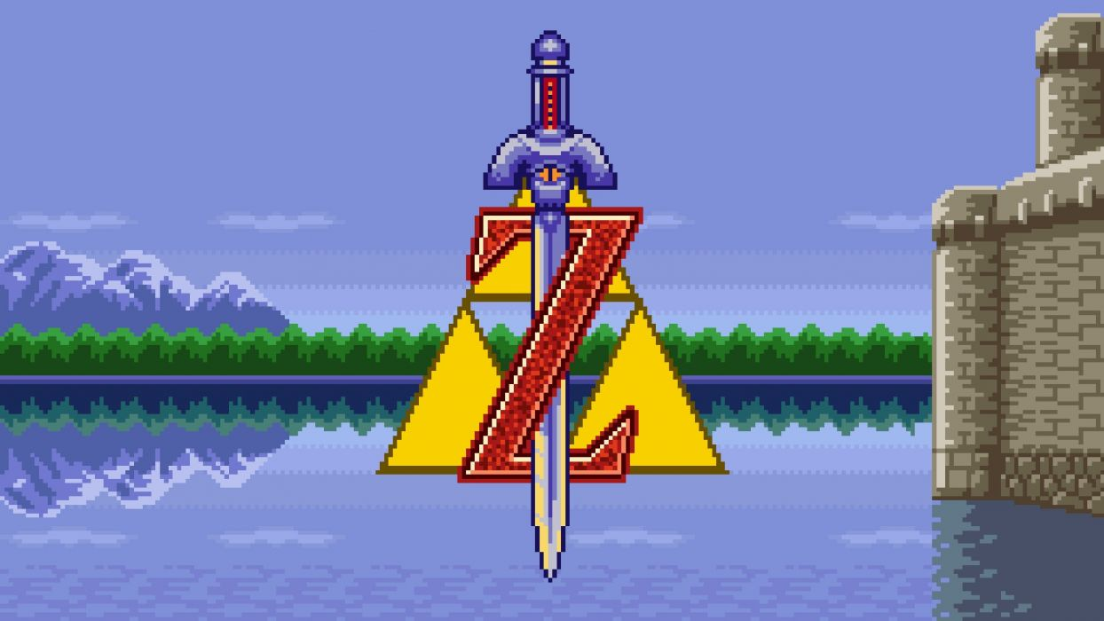 clasico video juego zelda wallpaper