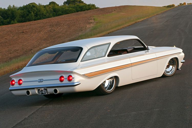 1961 Impala chevy Wagon cars modified wallpaper