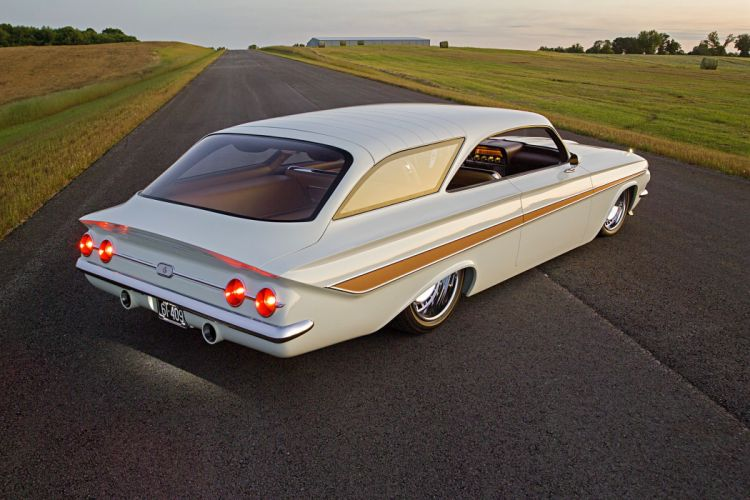 1961 Impala chevy Wagon cars modified wallpaper