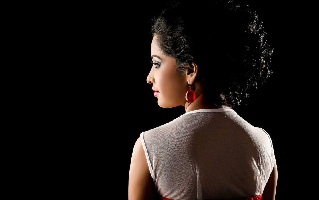 sahana bollywood actress model girl beautiful brunette pretty cute beauty sexy hot pose face eyes hair lips smile figure indian  wallpaper