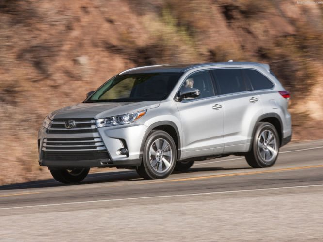 Toyota Highlander cars suv 2016 wallpaper