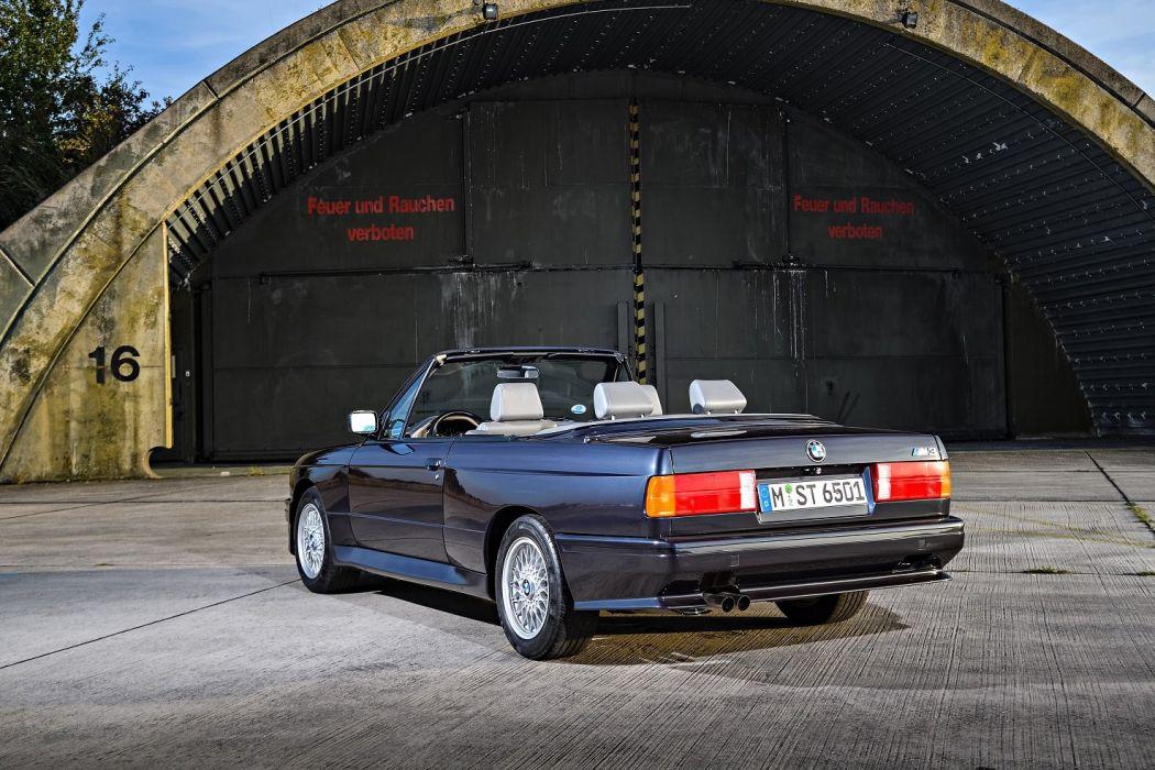 BMW-M3 Cabrio (E30) cars 1988 wallpaper