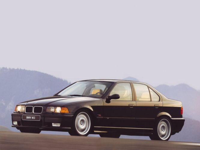 BMW-M3 Sedan cars (E36) 1994 wallpaper