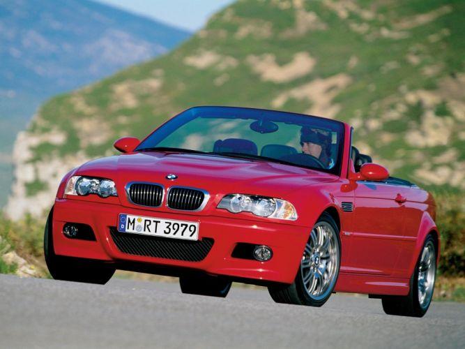 BMW-M3 Cabrio (E46) cars 2001 wallpaper