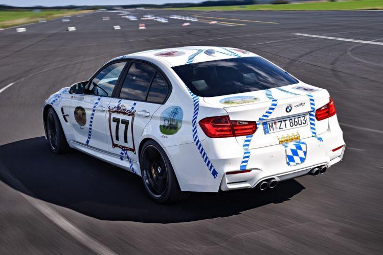 BMW-M3 Munchner-Wirte (F80) cars 2015 wallpaper