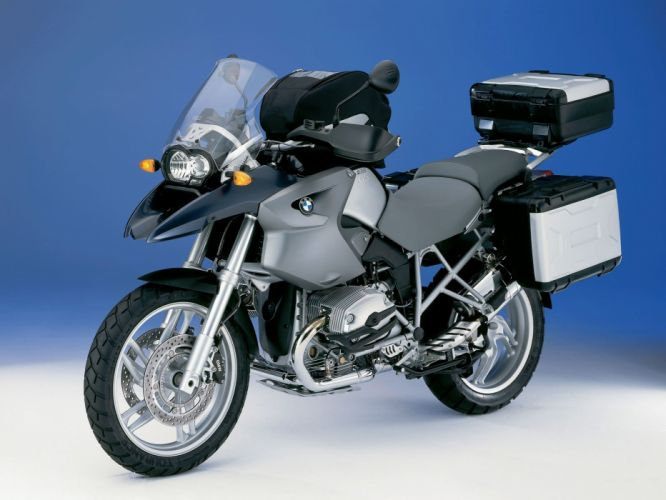 BMW R-1200-GS motorcycles 2004 wallpaper