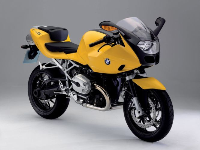 BMW R-1200-S motorcycles 2006 wallpaper