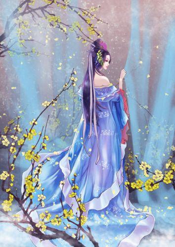 asian clothes flower girl dress beautiful wallpaper