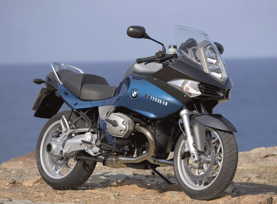 BMW R-1200-ST motorcycles 2005 wallpaper