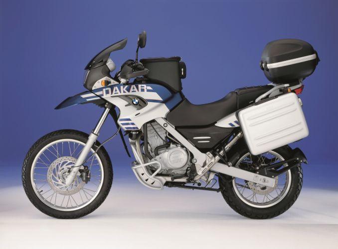 BMW F-650-GS motorcycles Dakar 2003 wallpaper