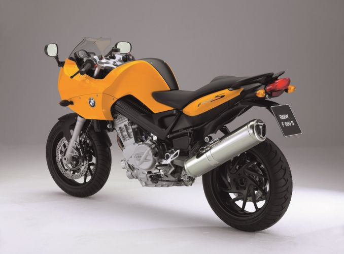 BMW F-800-S motorcycles 2006 wallpaper