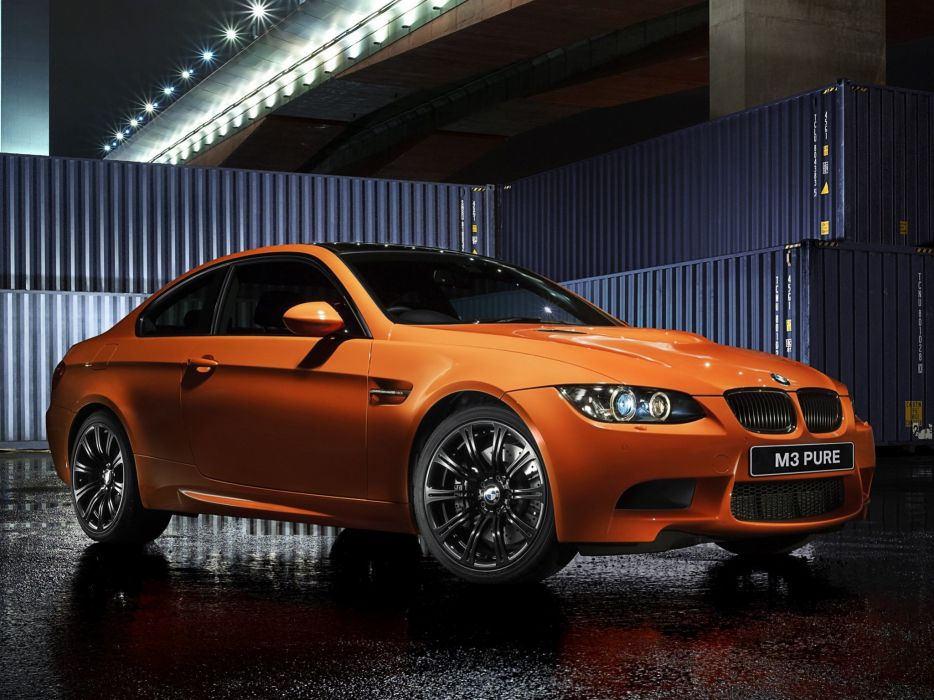 BMW M3 Coupe Pure Edition II 2012 wallpaper