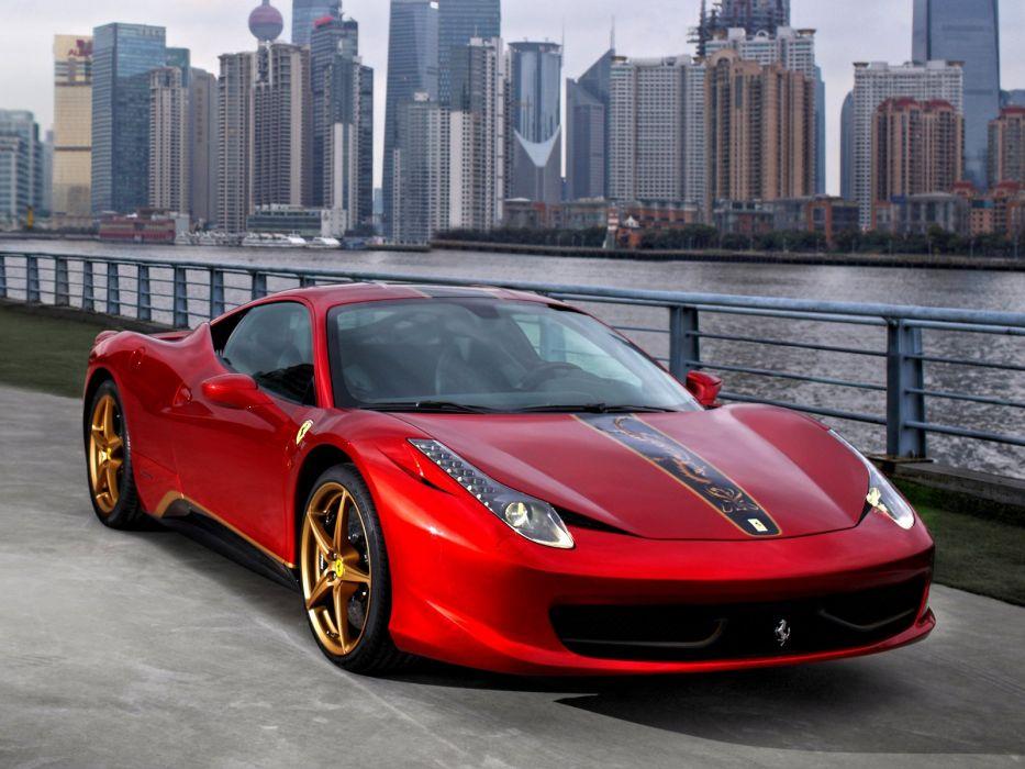 Ferrari 458 Italia 20th Anniversary Special Edition 2012 wallpaper