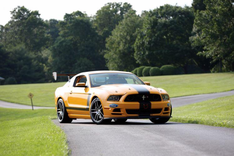 Ford Mustang Boss 302S Race Car 2013 wallpaper