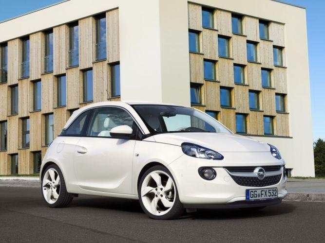 Opel Adam White Link 2013 wallpaper