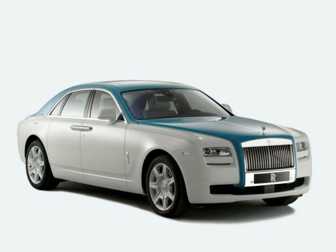 Rolls-Royce Ghost Firnas Motif 2013 wallpaper