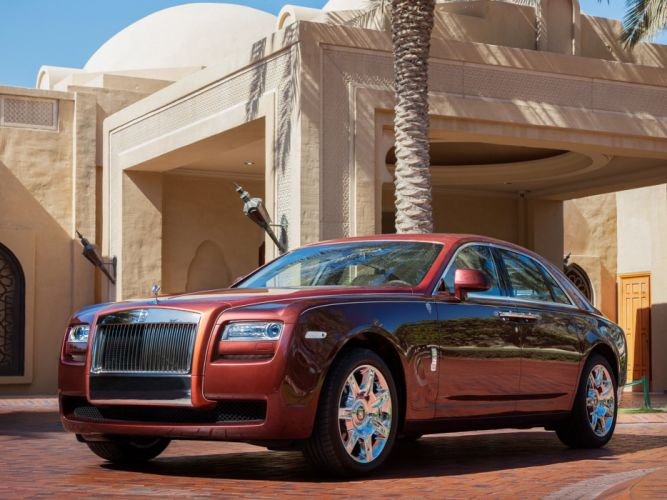 Rolls-Royce Ghost One Thousand and One Nights 2013 wallpaper