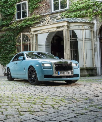 Rolls-Royce Ghost Alpine Trial Centenary Collection 2013 wallpaper