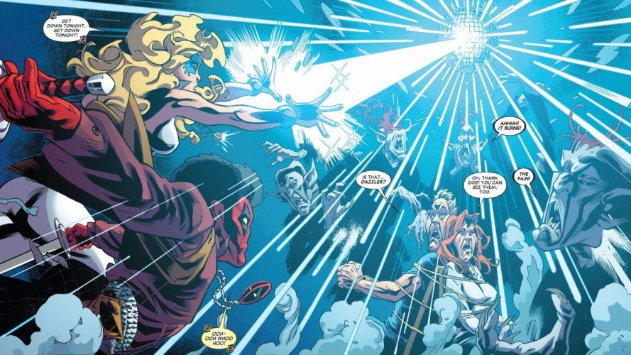 super heroes comic rayo luz wallpaper