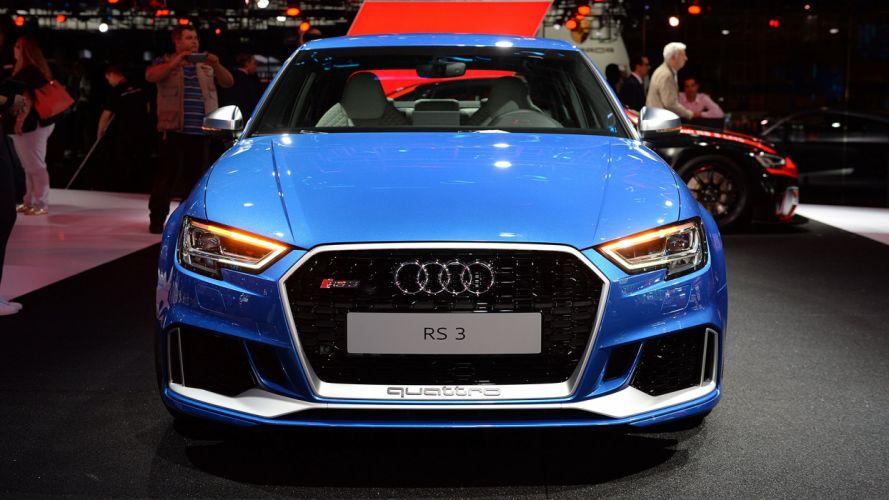 Paris Motor Show 2016 audi rs3 sedan cars wallpaper