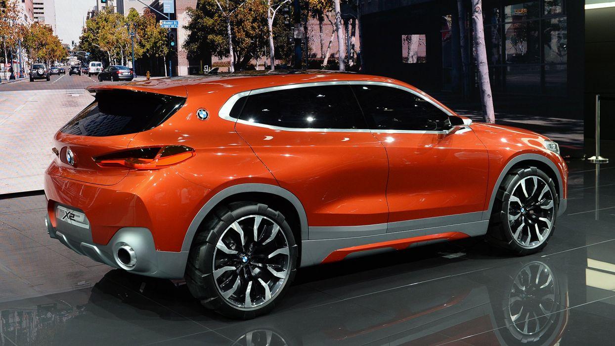Paris Motor Show 2016 BMW-X2 Concept cars wallpaper