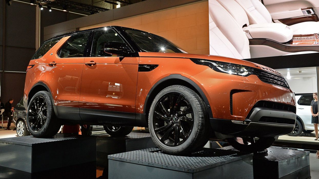 Paris Motor Show 2016 Land Rover Discovery cars suv wallpaper