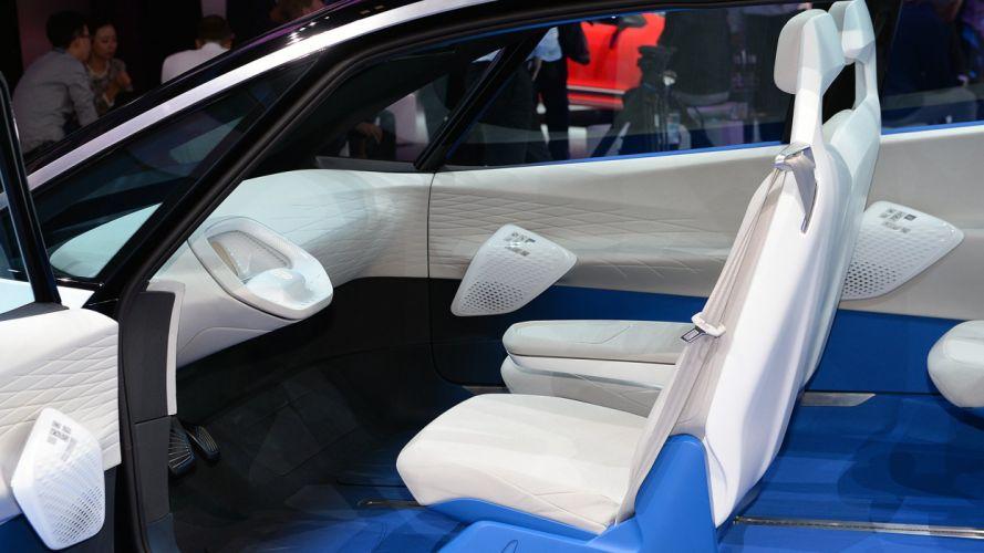 Paris Motor Show 2016 Volkswagen all-electric I D concept cars wallpaper