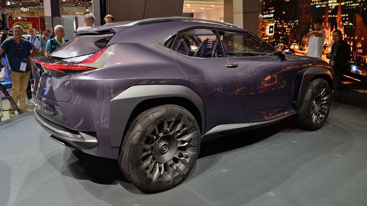 Paris Motor Show 2016 Lexus-UX Concept cars suv wallpaper