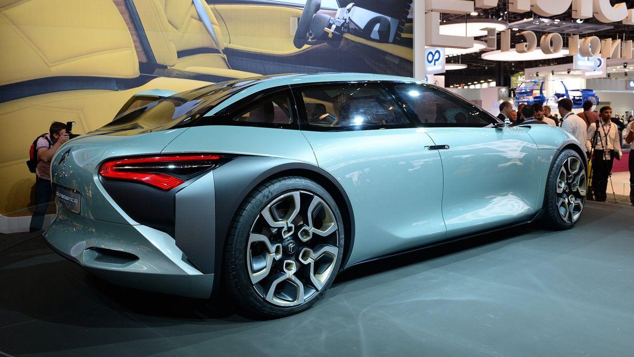 Paris Motor Show 2016 Citroen Cxperience Concept cars wallpaper