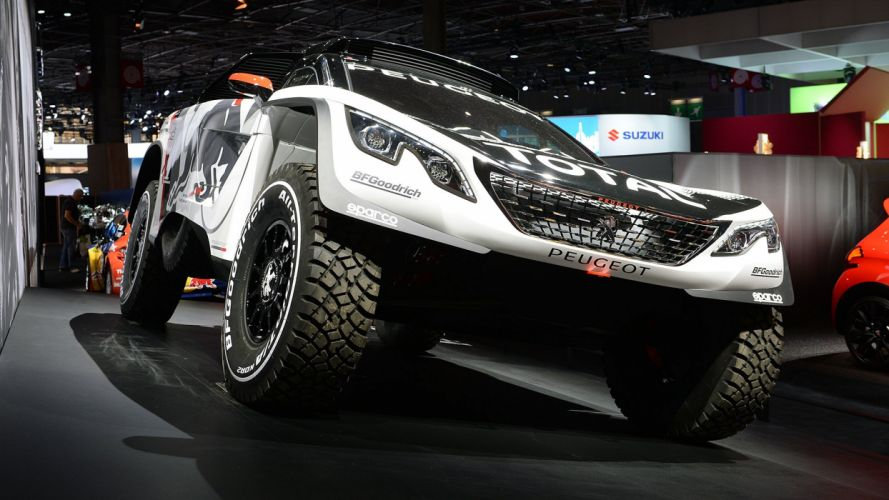 Paris Motor Show 2016 Peugeot 3008 DKR cars racecars wallpaper