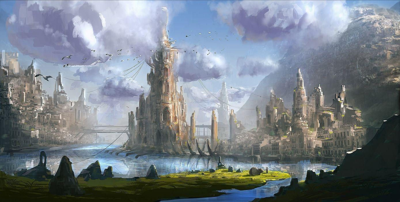 fantasy-castle wallpaper