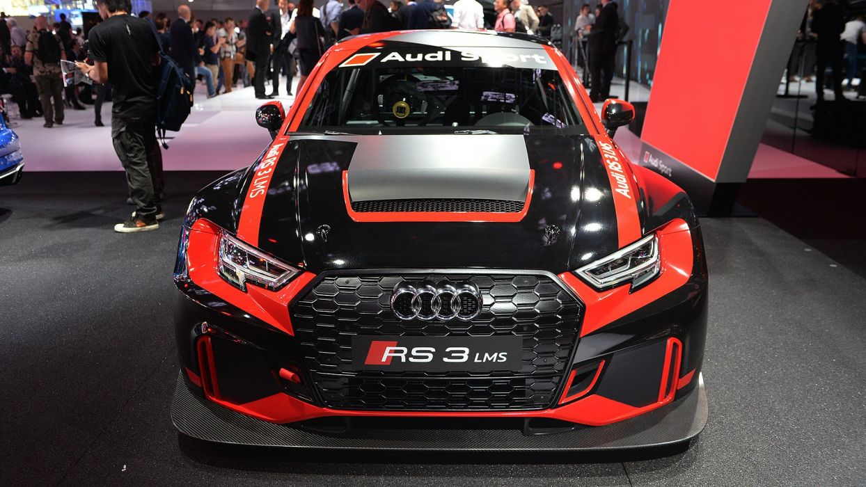 2016 Paris Motor Show Audi RS3 LMS cars racecars wallpaper