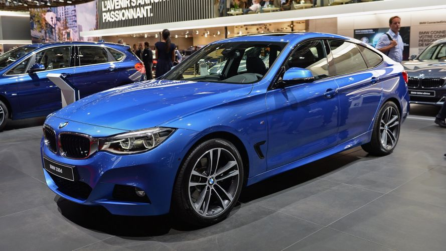 2016 Paris Motor Show BMW 3-Series-GT cars wallpaper