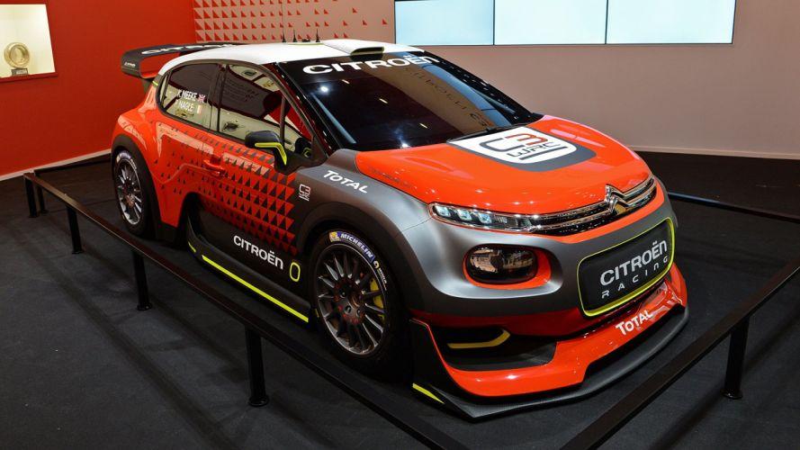 Paris Motor Show 2016 Citroen-C3 WRC Concept cars racecars wallpaper